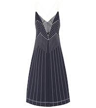 Valentino Techno jersey midi dress