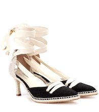 Manolo Medium espadrille pumps
