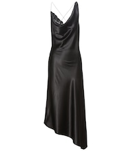 Moonshine silk satin dress