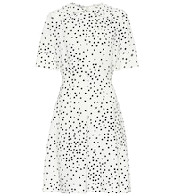 Polka-dot minidress