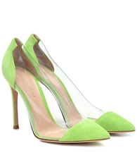 Plexi 105 suede pumps
