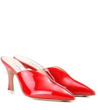 Monica patent leather mules