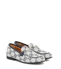 Loafers aus Canvas
