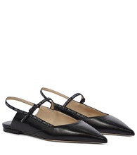 Ree leather slingback ballet flats