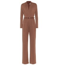Marusca stretch-jersey jumpsuit