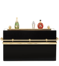 Verzierte Boxclutch Mini Bar