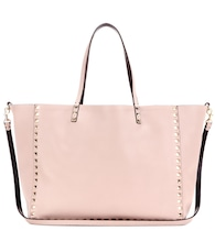 Valentino Garavani Rockstud reversible leather shopper