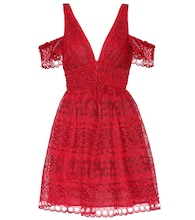 Sheared minidress