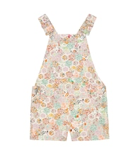 Saga Liberty floral cotton overalls