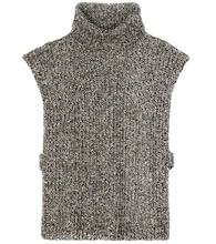 Haway wool, cotton and silk-blend turtleneck sweater