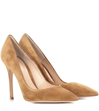 Exclusive to mytheresa.com – Gianvito 105 suede pumps