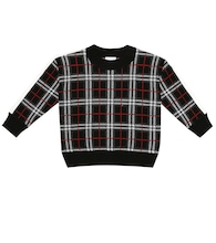Donnie Check wool sweater