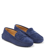 Junior Gommino suede moccasins