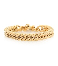Small 23.5kt gold-plated bracelet