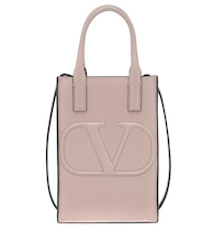 Valentino Garavani VLOGO Walk Mini leather tote