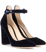 Exclusive to mytheresa.com – Greta velvet pumps