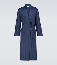 Lingfield cotton robe