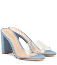 Exclusivo en Mytheresa – sandalias Vivienne 85 de denim