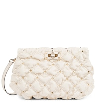 Valentino Garavani SpikeMe Small leather clutch