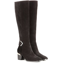 Brannagh suede knee-high boots