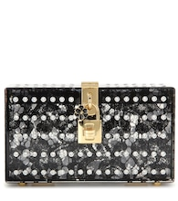 Dolce Box embellished box clutch