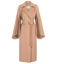 Milano camel hair coat