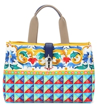 Dolce Shopping printed canvas shopper