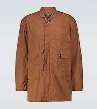 Multi-pocket car coat