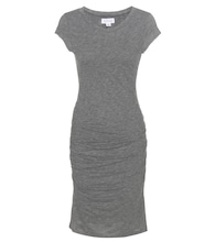 Ciroc ruched jersey dress