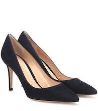 Pumps Gianvito 85 aus Veloursleder