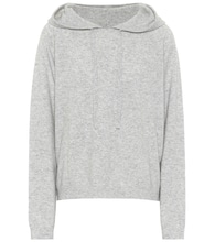 Wool and cashmere hoodie