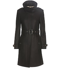 Gibbsmoore wool and cashmere-blend coat