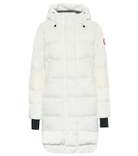 Alliston quilted down coat
