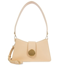Baguette leather shoulder bag