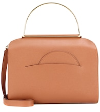 NO.1 leather shoulder bag