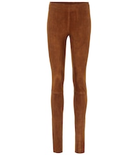 Carolyn skinny suede pants