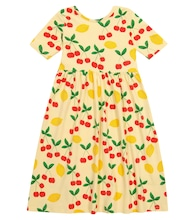 Cherry Lemonade stretch-cotton dress