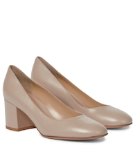 Gilda 60 leather pumps