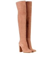 Exclusive to mytheresa.com - Suede thigh-high boots