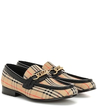 1983 Check Link loafers