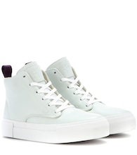 High-Top-Sneakers Odyssey aus Leder