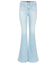 Beach Line high-rise flared jeans
