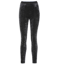 Leggings de terciopelo