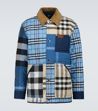Henham patchwork checked jacket