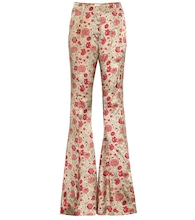 Stockard high-rise flared pants