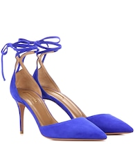 Heartbreaker 85 suede pumps