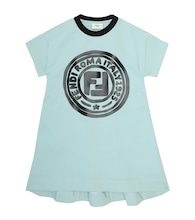 Logo cotton dress