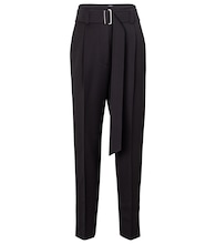 Dida virgin wool straight pants