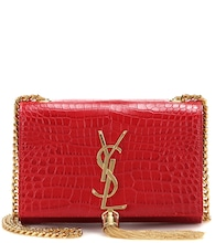 Small Kate Monogram embossed leather shoulder bag