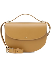 Genève leather shoulder bag